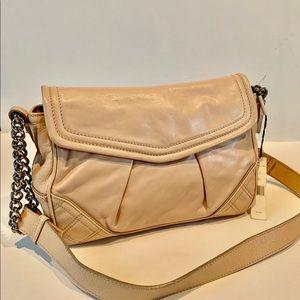 Marc Jacobs Noel Apricot Leather Shoulder Bag